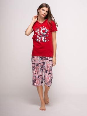 Піжама: футболка і бриджі   4356893