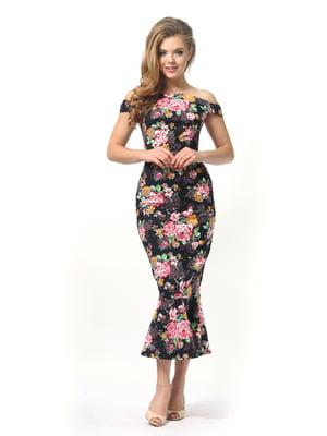 Сукня в квітковий принт | 4389344
