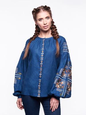 Вишиванка синя | 4389592
