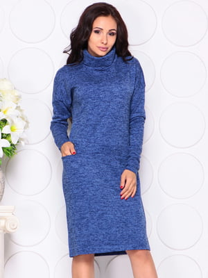 Платье синее | 4389178