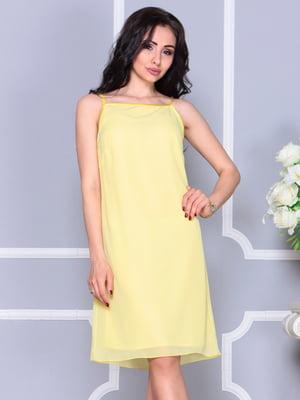 Платье желтое | 4389193