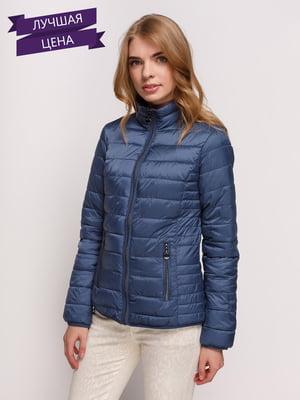 Куртка серо-синяя | 4373730