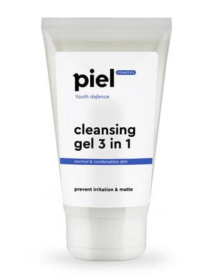 Гель для вмивання для жирної та комбінованої шкіри 3 в 1 Youth Defense Purifying Gel Cleanser (150 мл) | 647286