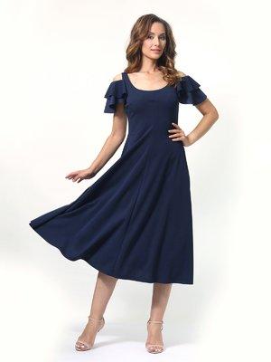 Платье темно-синее | 4394681