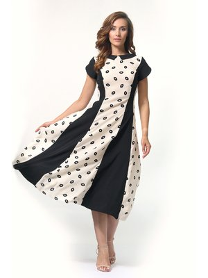 Сукня двоколірна | 4394693