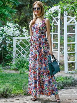 Платье в принт | 4384450