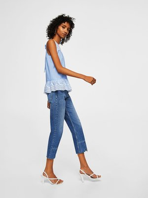 Блуза голубая | 4171562