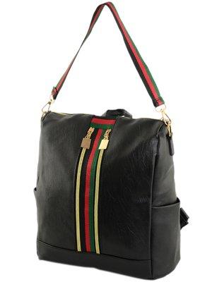 Сумка-рюкзак черная | 4395691
