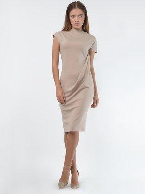 Сукня пісочного кольору | 4397921