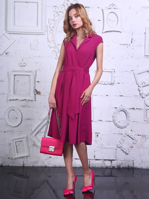 Платье цвета фуксии | 4398812