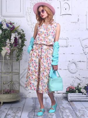 Сукня в квітковий принт   4398814