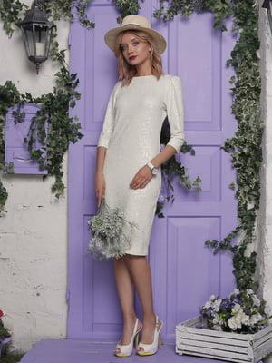 Платье молочного цвета | 4398816