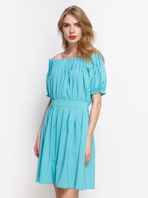 Сукня м'ятного кольору | 4392834