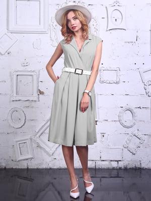 Платье серое | 4384558