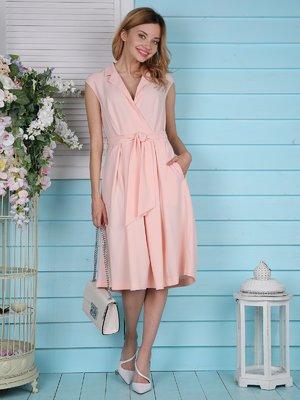 Платье персикового цвета   4398810