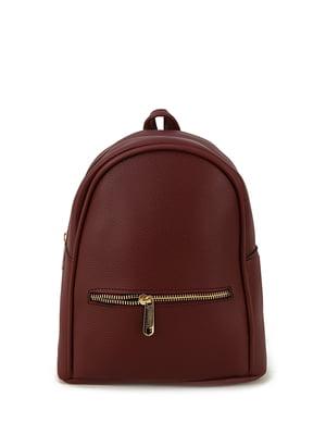 Рюкзак бордовий | 4395299