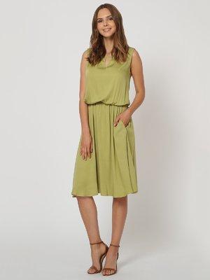 Платье цвета хаки | 4311680