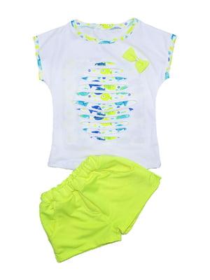 Комплект: футболка и шорты | 4388263