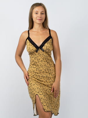Платье в цветочный принт   4279362