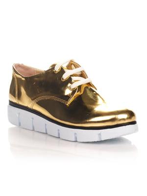 Туфли золотистые | 4400173