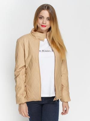 Куртка бежевая | 4327096