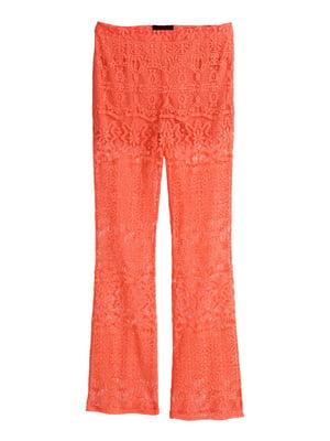 Брюки морковного цвета | 4406599