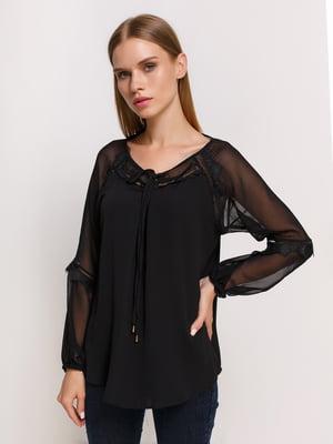 Блуза черная | 3246530