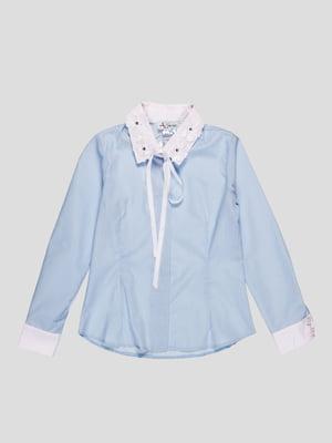 Сорочка блакитна | 4389466