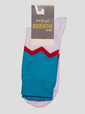 Носки двухцветные | 4398791