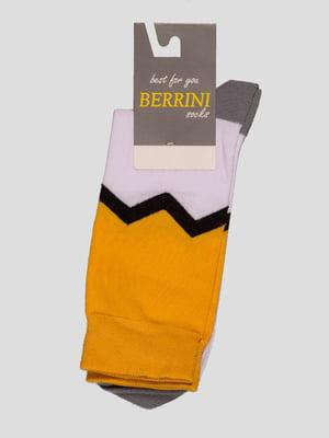 Шкарпетки різноколірні | 4398792