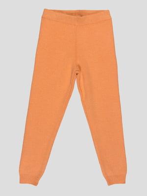 Леггинсы оранжевые | 4397190