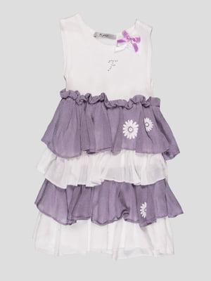Платье двухцветное | 94477