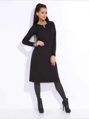 Платье-туника черное | 3947800