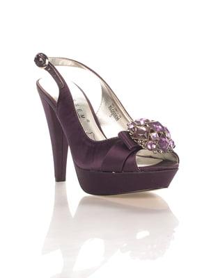 Босоніжки фіолетові | 4408985