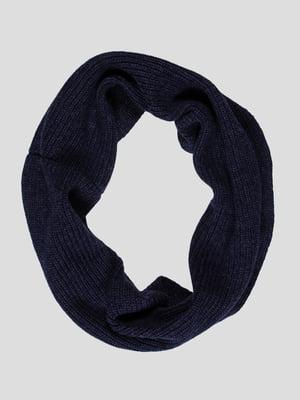 Шарф-снуд джинсового цвета   4397970