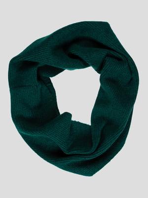 Шарф-снуд зеленый   4397975