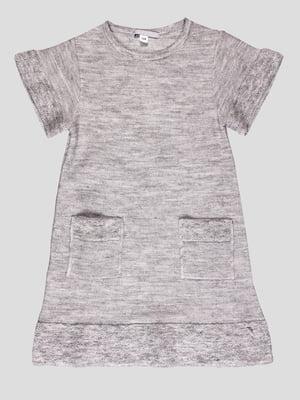 Платье серое | 4397547