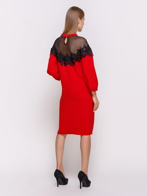 Платье красное | 4403529