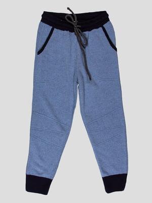 Брюки джинсового цвета | 4397479