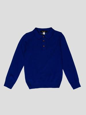 Джемпер темно-синій | 4397290