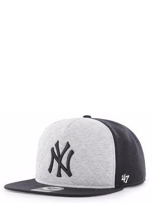 Бейсболка белая с вышивкой | 4411867