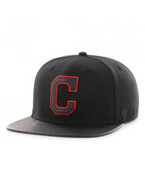 Бейсболка чорна з вишивкою | 4411874
