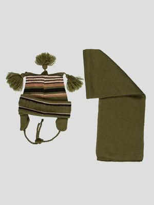 Комплект: шапка і шарф | 4397950