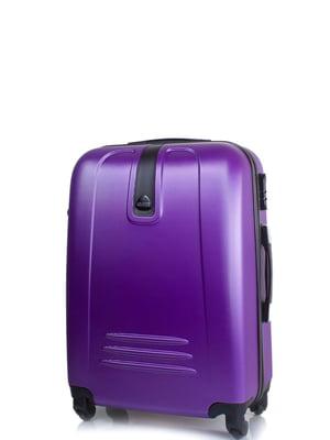 Чемодан фиолетовый | 4413439