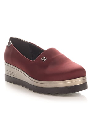 Туфли бордовые | 4414442