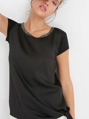 Блуза черная | 4414505