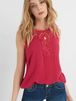 Блуза вишневого цвета | 4414876
