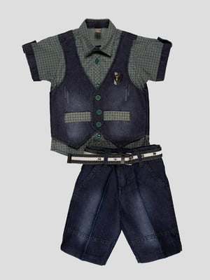 Комплект: сорочка і шорти | 4400013