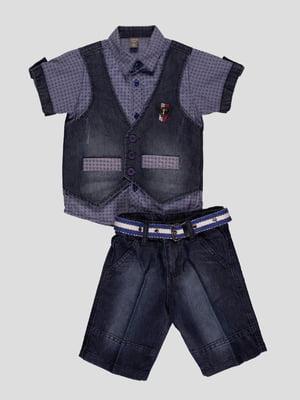 Комплект: сорочка і шорти | 4400011