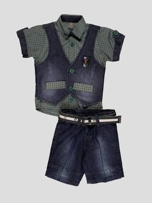 Комплект: сорочка і шорти | 4400010